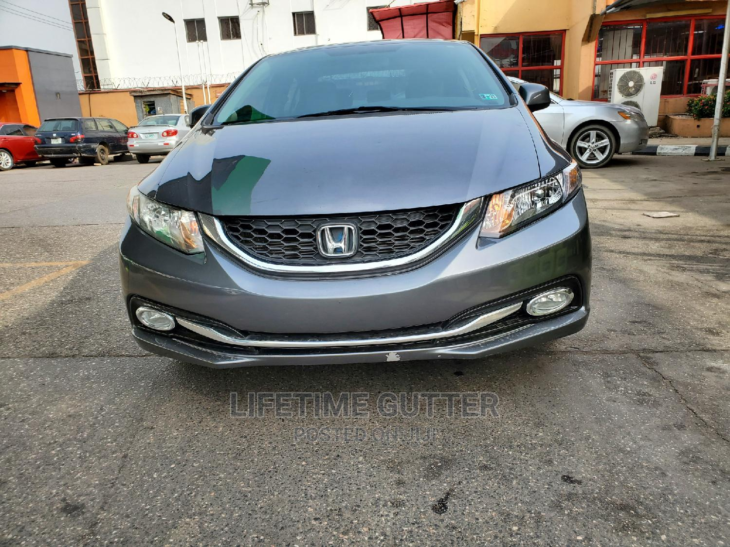 Honda Civic 2014 Gray