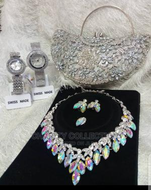 Ladies Clutch Purses With Necklaces   Bags for sale in Lagos State, Mushin