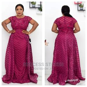 New Female Turkey Quality Luxury Long Dress | Clothing for sale in Lagos State, Victoria Island