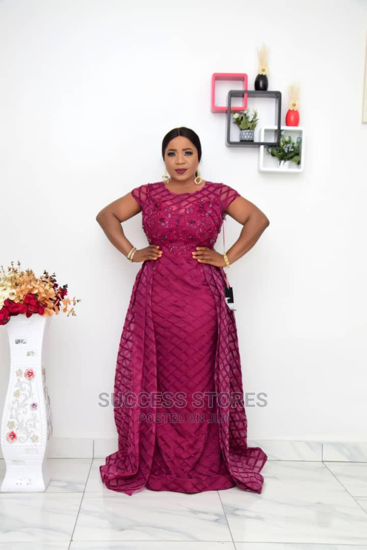 New Female Turkey Quality Luxury Long Dress | Clothing for sale in Victoria Island, Lagos State, Nigeria