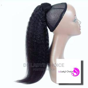 De Lady's Choice Kinky Pony Wrap | Hair Beauty for sale in Lagos State, Amuwo-Odofin