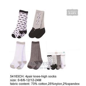 Hudson Baby 4 Pair Knee Socks | Children's Clothing for sale in Lagos State, Ikotun/Igando