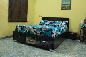 Modern BED-FRAME With Bed Side TABLE | Furniture for sale in Lagos State, Ikeja