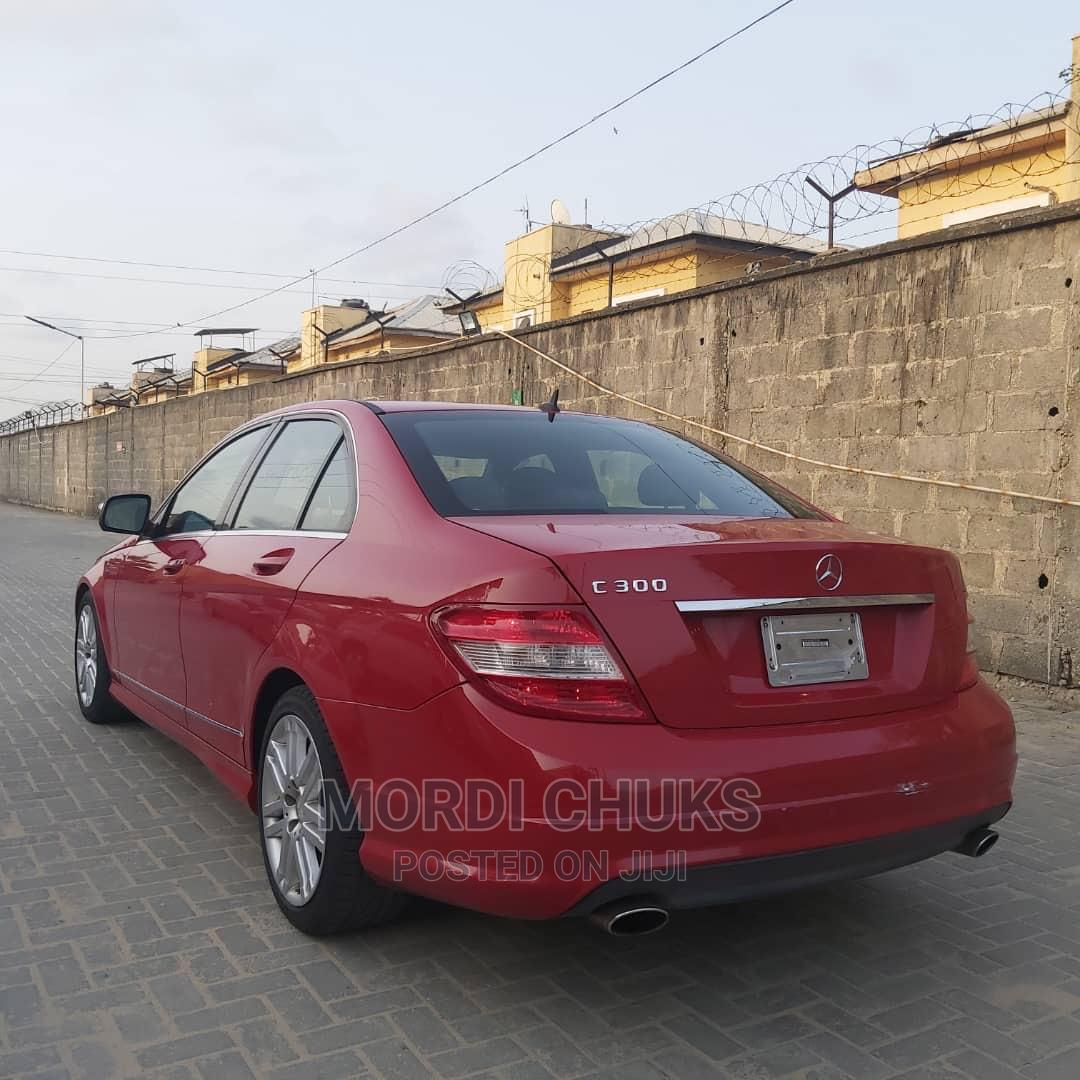 Archive: Mercedes-Benz C300 2008 Red