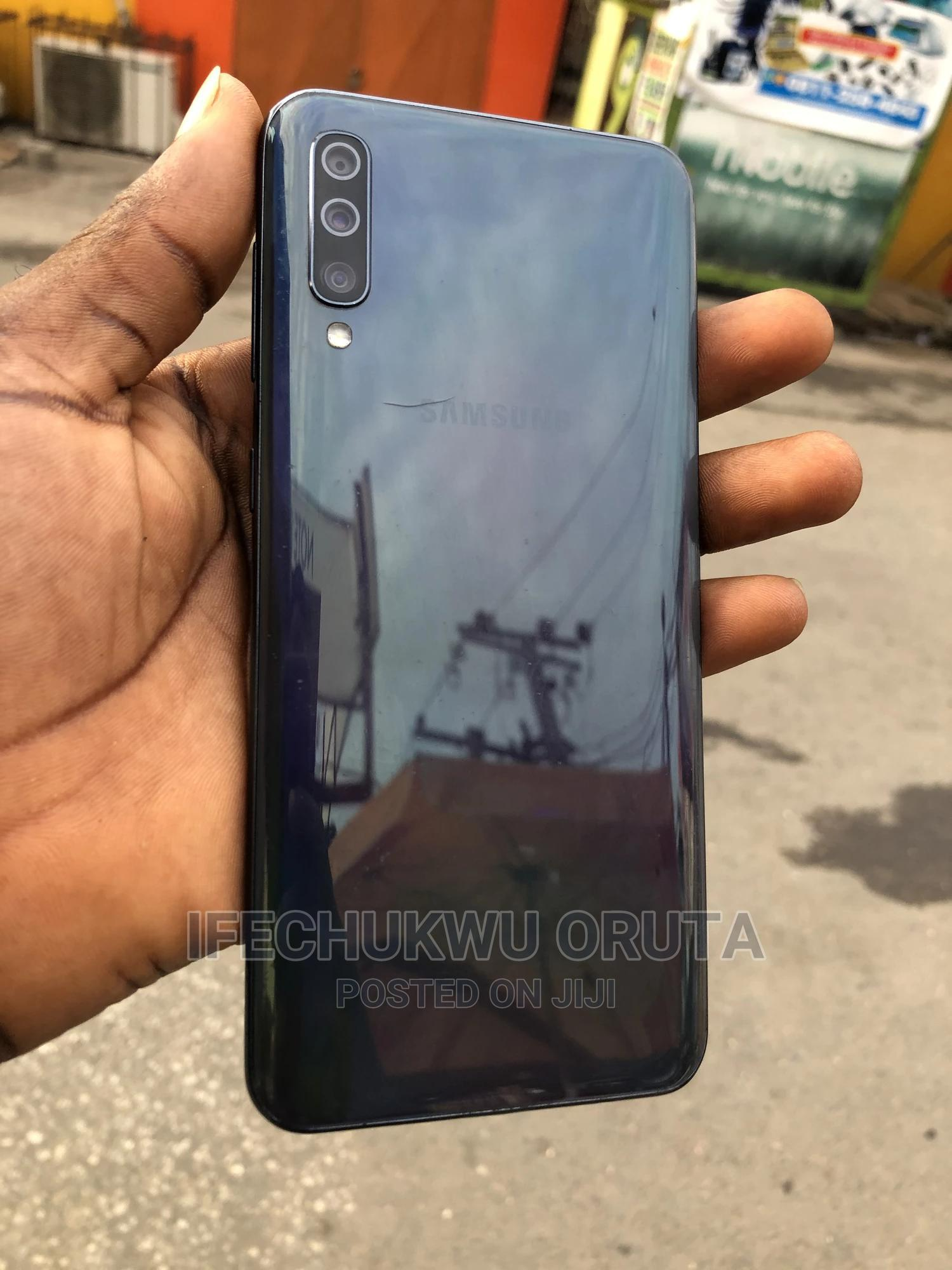 Samsung Galaxy A50 128 GB Black | Mobile Phones for sale in Ikeja, Lagos State, Nigeria