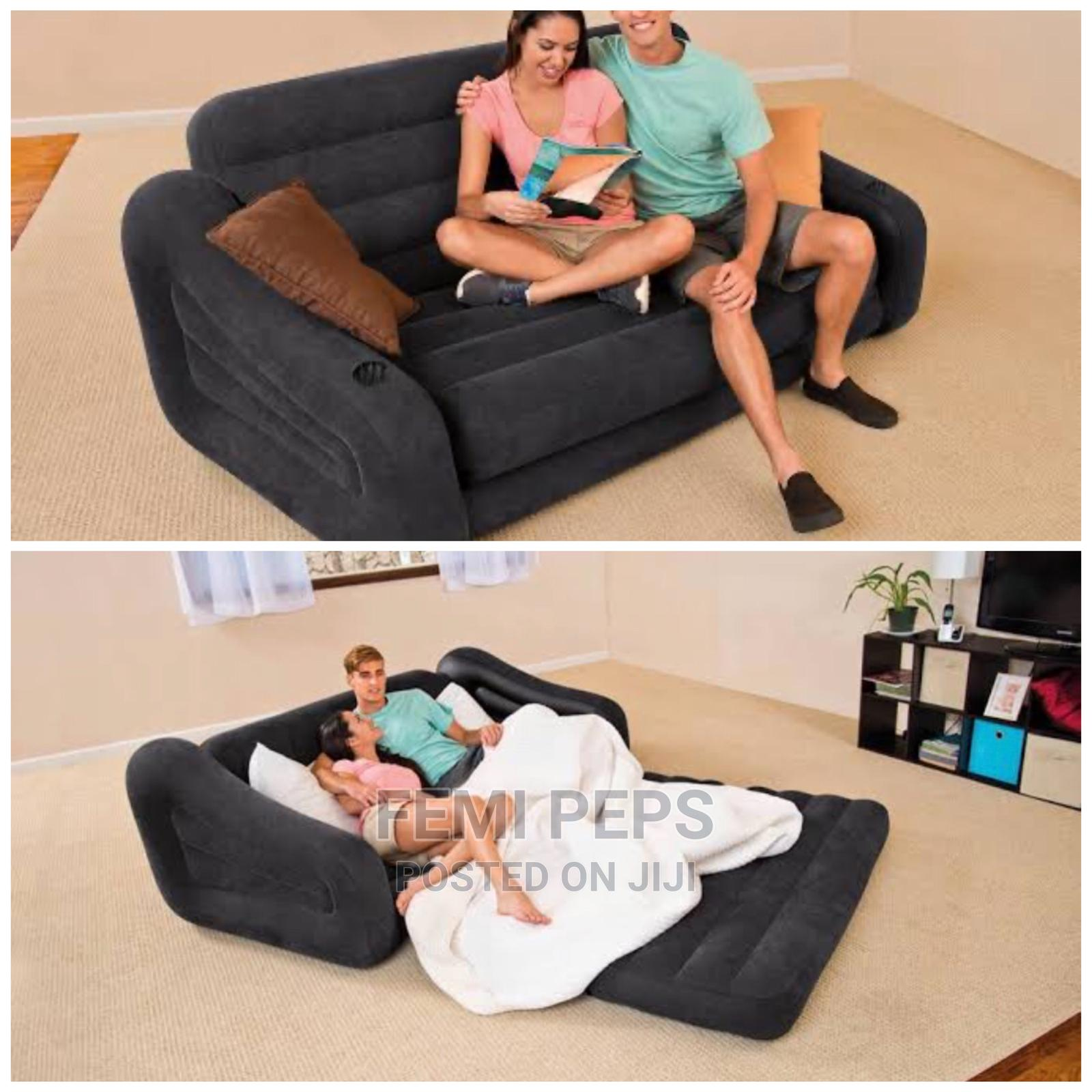 Inflatable Bed/Sofa Double Sitter