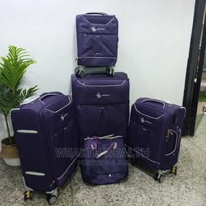 4 Wheel Trolley Luggage With Hand Bag Available Forsale | Bags for sale in Lagos State, Ikeja