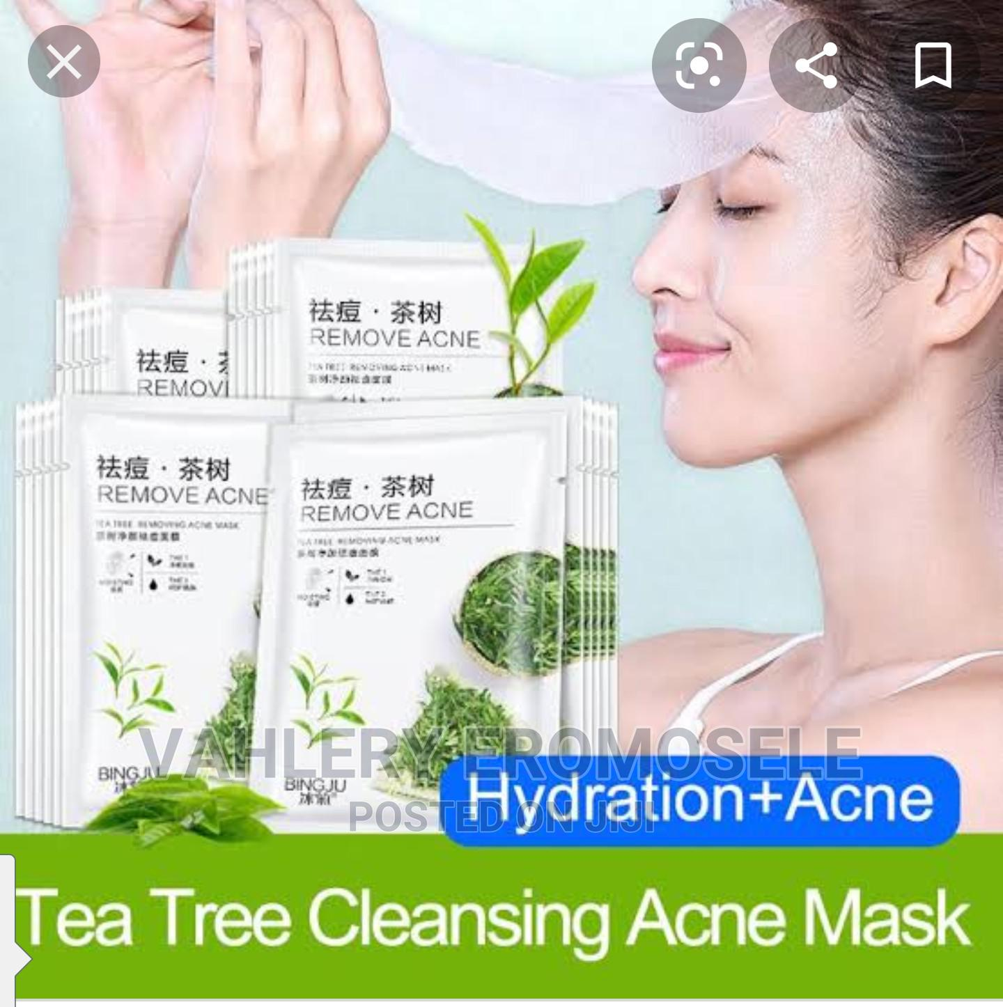 Promo Price Small but Mighty Tea Tree Remove Acne Mask   Skin Care for sale in Agege, Lagos State, Nigeria