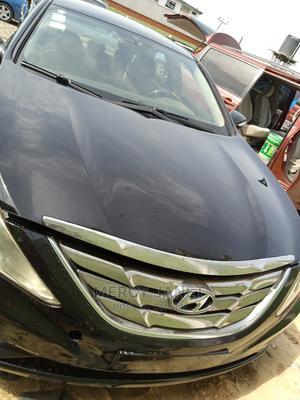 Hyundai Sonata 2011 Hybrid Black | Cars for sale in Lagos State, Ifako-Ijaiye