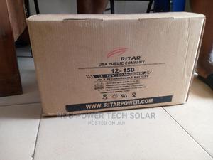 12v/150ah Ritar Battery   Solar Energy for sale in Lagos State, Ikeja
