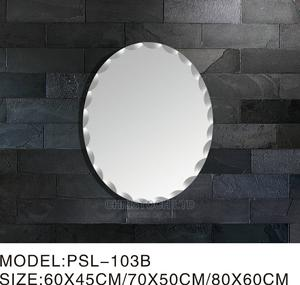 Plain Oval Shape Mirror   Home Accessories for sale in Lagos State, Isolo