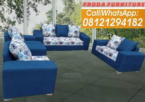 Set of 7 Seaters Sofa Chairs. Fabric Couch   Furniture for sale in Lagos State, Agege