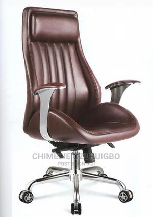 Brown Executive Ergonomic Office Chair | Furniture for sale in Lagos State, Ikoyi