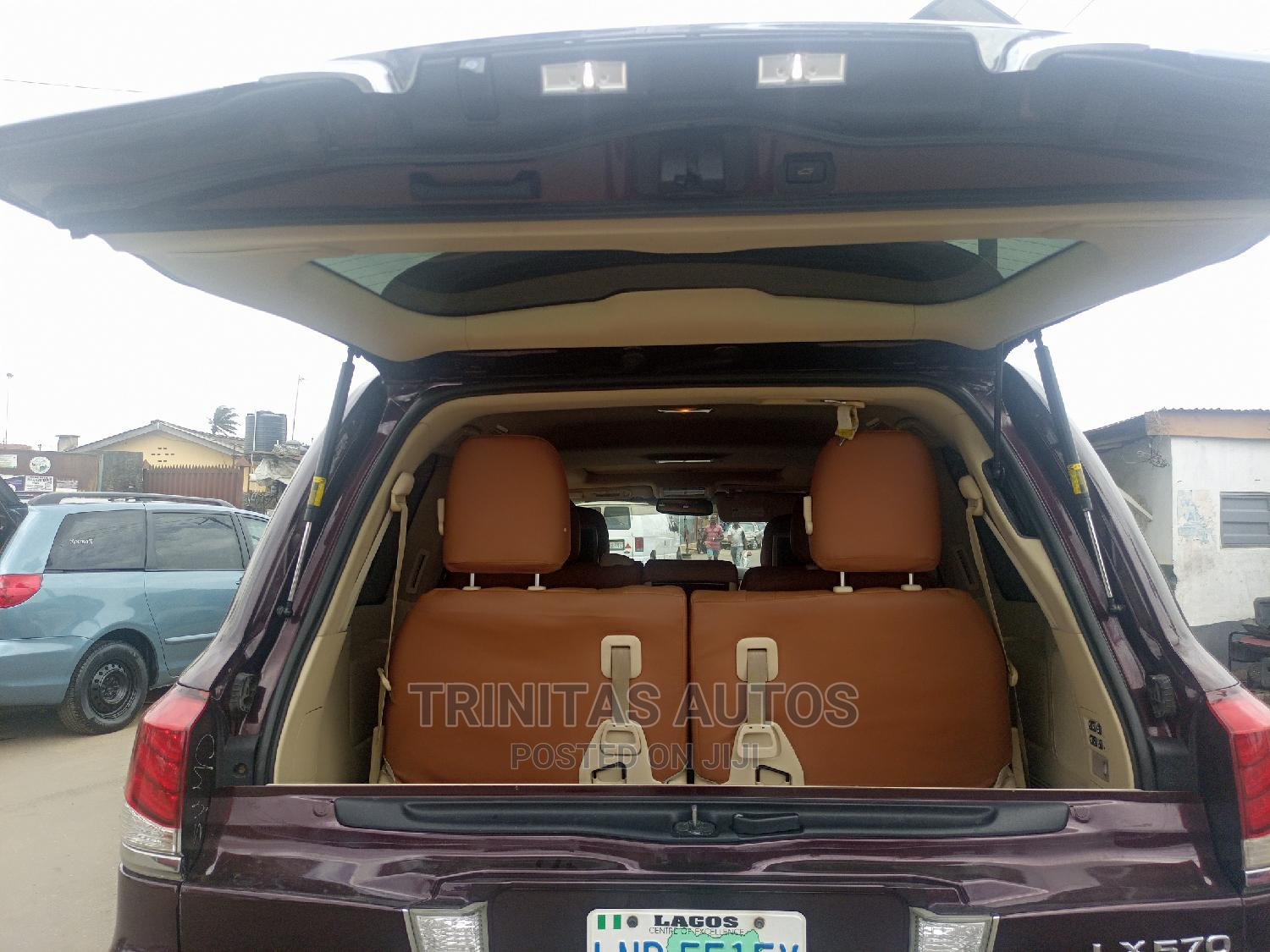 Lexus LX 2013 570 Base Brown | Cars for sale in Surulere, Lagos State, Nigeria