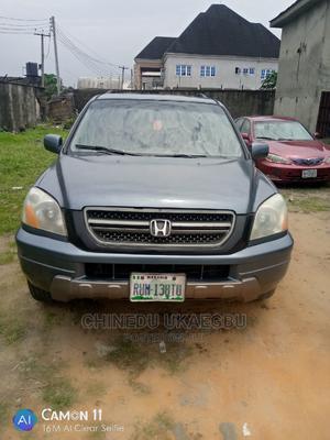 Honda Pilot 2005 EX-L 4x4 (3.5L 6cyl 5A) Blue | Cars for sale in Rivers State, Obio-Akpor