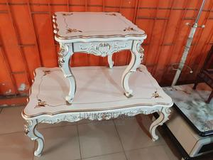 Royal Center Table With 2 Side Stools | Furniture for sale in Lagos State, Ajah