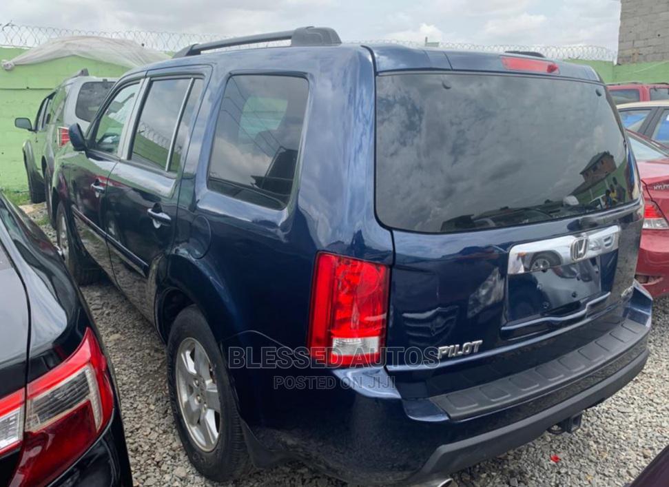 Honda Pilot 2009 Blue | Cars for sale in Ifako-Ijaiye, Lagos State, Nigeria