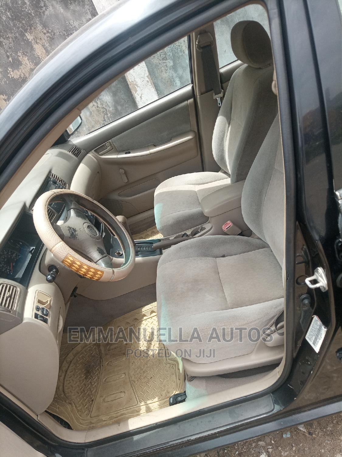 Toyota Corolla 2004 1.4 D Automatic Black | Cars for sale in Ikeja, Lagos State, Nigeria