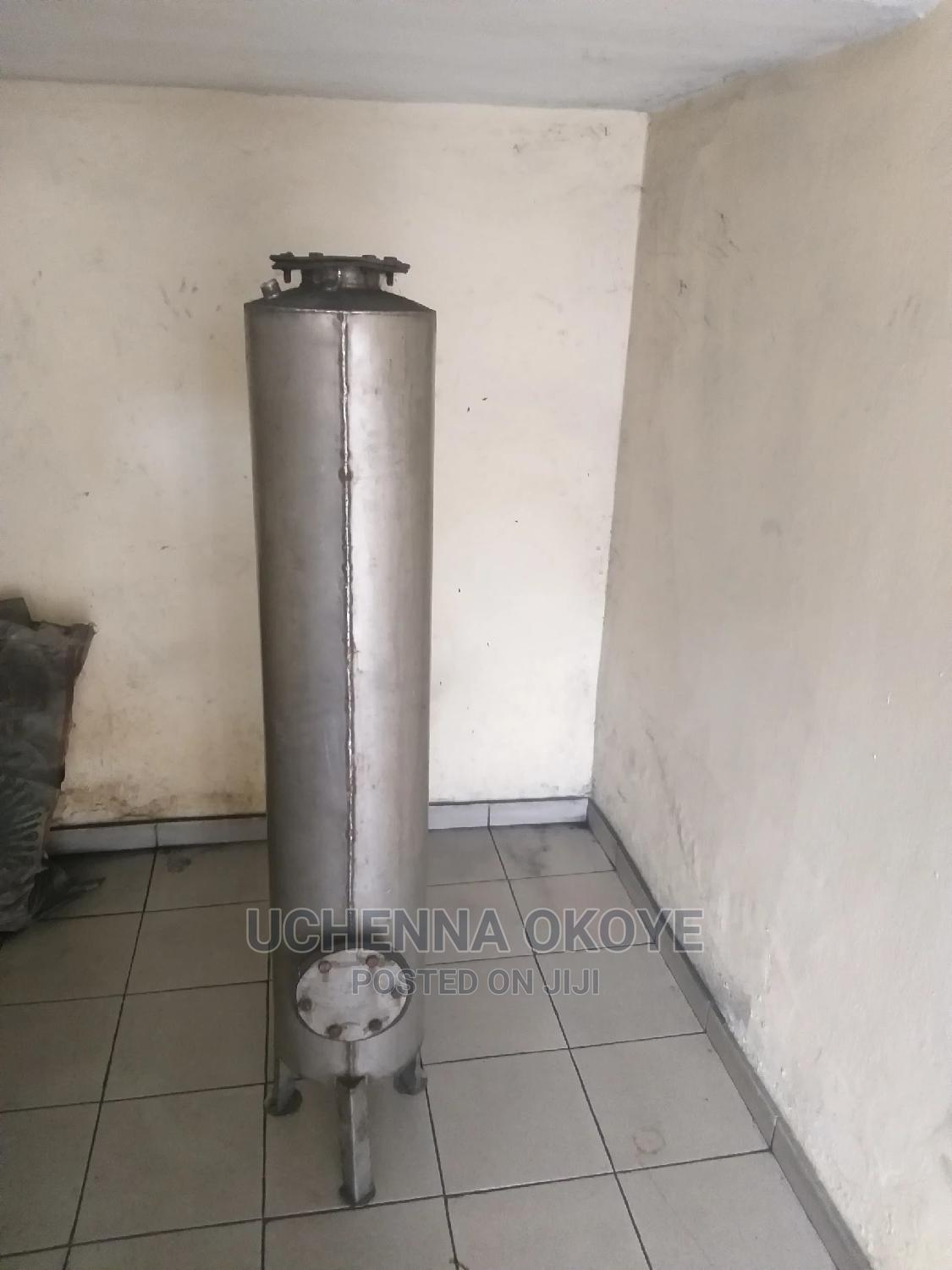 Archive: Stainless Steel Water Treatment Tank