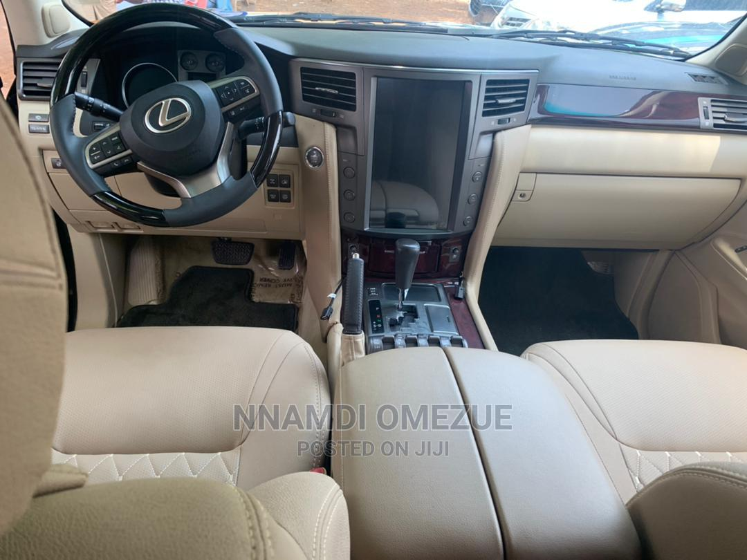 Lexus LX 2012 570 Black | Cars for sale in Gwarinpa, Abuja (FCT) State, Nigeria