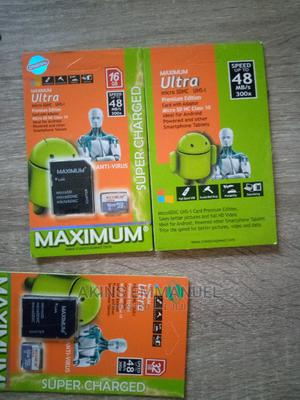 Strong Max Memory Card 32 GB and More for Your Phone   Accessories for Mobile Phones & Tablets for sale in Lagos State, Mushin