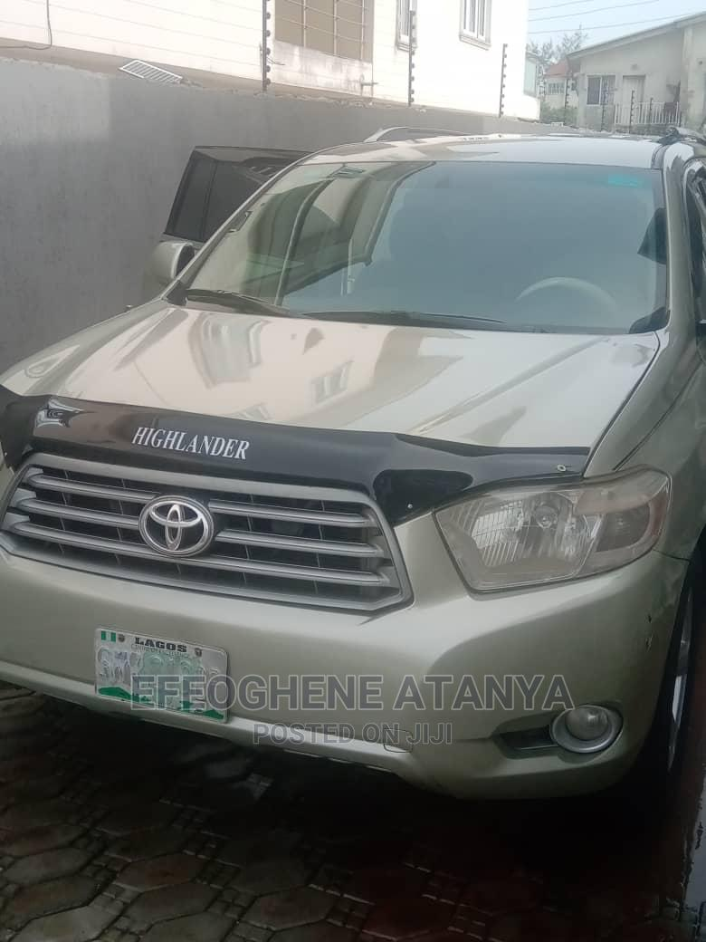 Toyota Highlander 2008 Green
