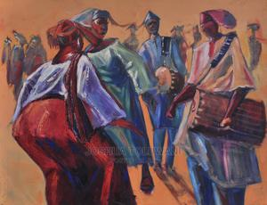 Oil on Canvas Painting - Owambe | Arts & Crafts for sale in Lagos State, Ajah