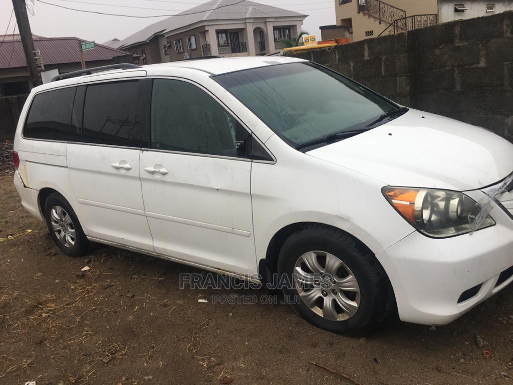 Honda Odyssey 2008 Touring White | Cars for sale in Ibeju, Lagos State, Nigeria