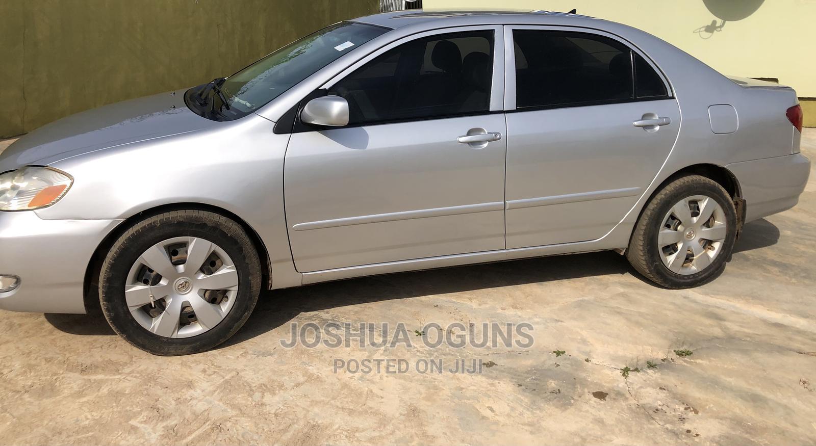 Toyota Corolla 2004 1.4 Silver | Cars for sale in Abeokuta South, Ogun State, Nigeria