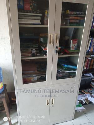 Glass Door Aluminum Shelf Cabinet   Furniture for sale in Rivers State, Port-Harcourt