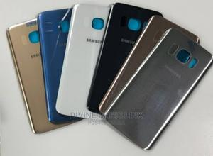 Original Samsung Galaxy S7 Back Glass Replacement   Accessories for Mobile Phones & Tablets for sale in Lagos State, Ikeja