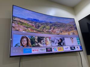 Samsung UE49KS9000 Curved SUHD HDR 1,000 4K Ultra HD Quantu | TV & DVD Equipment for sale in Lagos State, Lekki