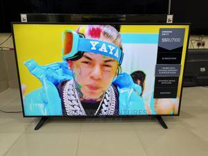 Samsung Ue55ru7100 55 Inch 4K Ultra HD Hdr Smart LED TV   TV & DVD Equipment for sale in Lagos State, Lekki