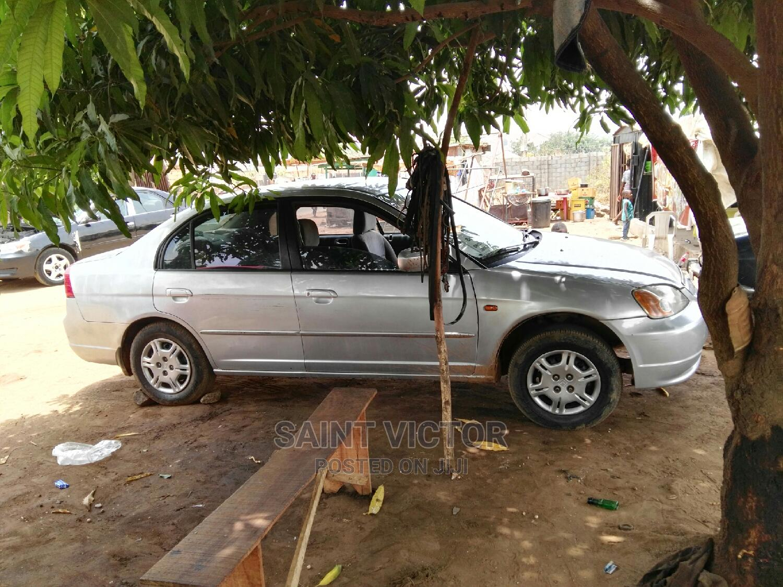 Honda Civic 2004 1.4i LS Silver   Cars for sale in Nyanya, Abuja (FCT) State, Nigeria