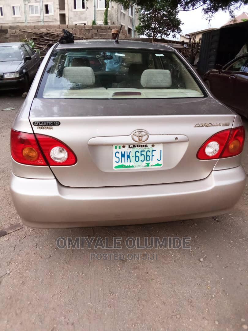 Toyota Corolla 2004 Sedan Automatic Gold | Cars for sale in Osogbo, Osun State, Nigeria