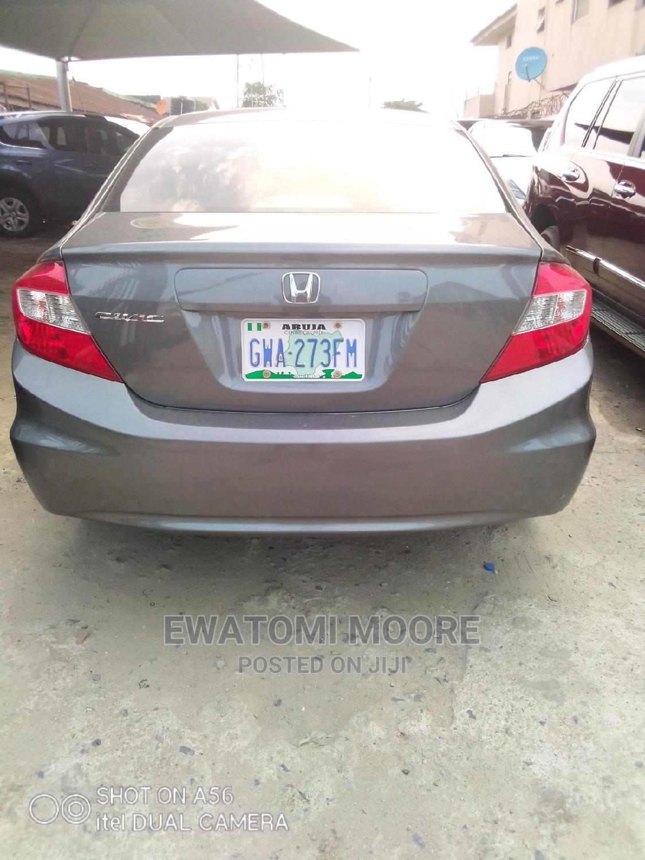 Archive: Honda Civic 2012 Gray