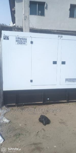 250kva Brand New Perkins Soundproof Diesel Generator   Electrical Equipment for sale in Lagos State, Ibeju