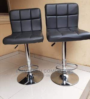 Single Black Leather Bar Stool   Furniture for sale in Lagos State, Abule Egba