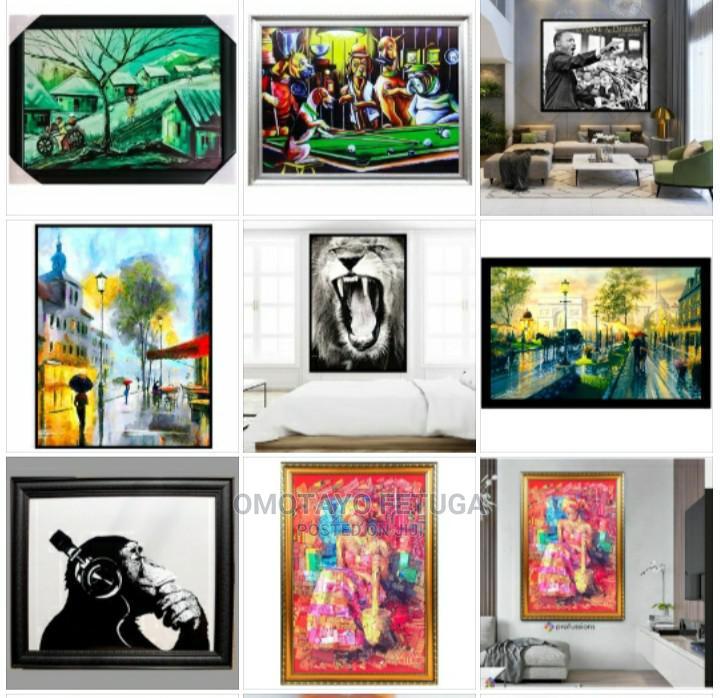 Large Framed Artwork Different Designs