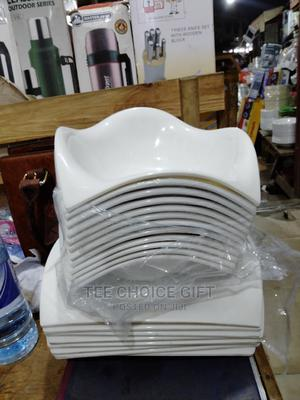 Unbreakable Plates (White)   Kitchen & Dining for sale in Lagos State, Alimosho