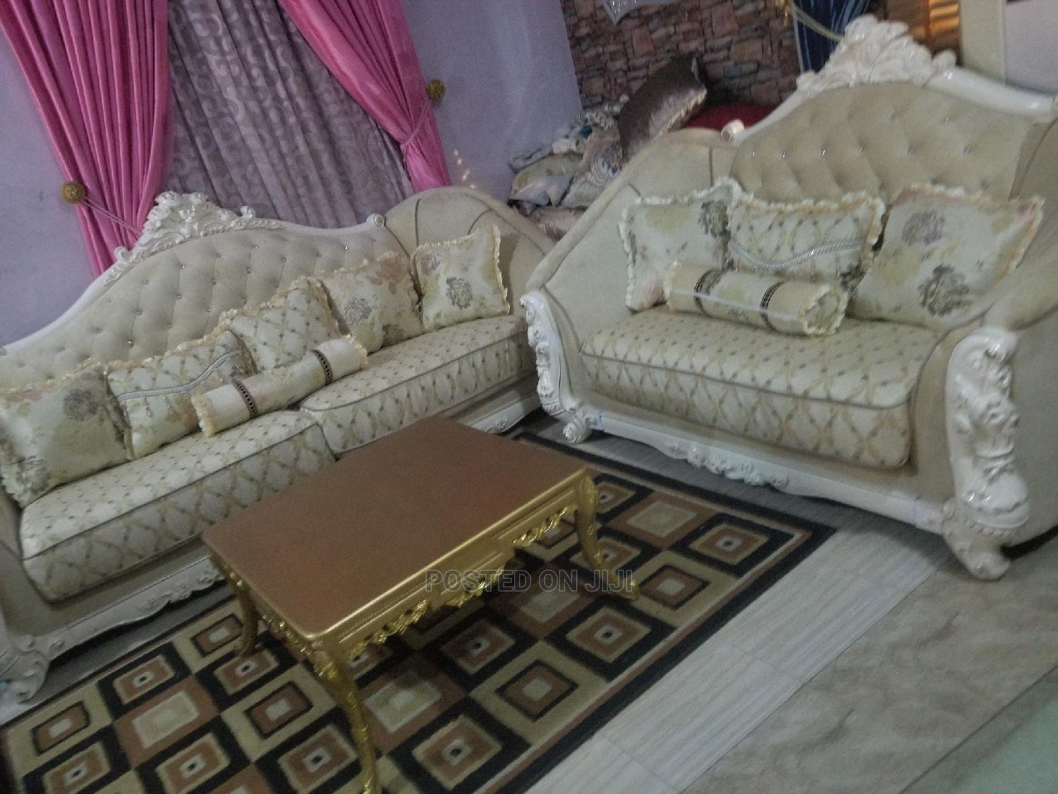 Imported 7seater Royal Turkey Fabric Sofa Chair Quality Prod