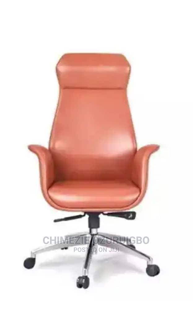 Light Brown Executive Office Chair