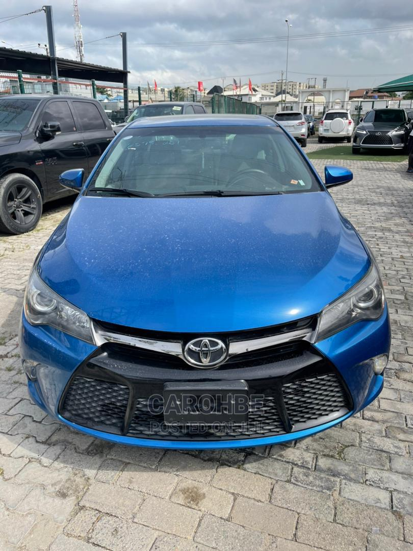Toyota Camry 2017 Blue   Cars for sale in Lekki, Lagos State, Nigeria