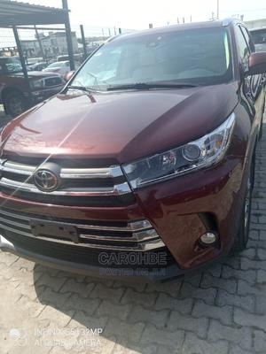 Toyota Highlander 2019 Limited Red | Cars for sale in Lagos State, Lekki