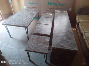 Room Divider, Table and 4 Side Stools | Furniture for sale in Abuja (FCT) State, Dutse-Alhaji
