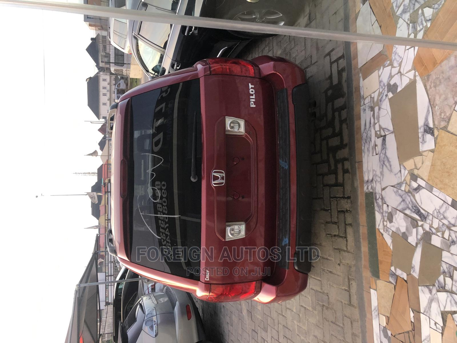 Honda Pilot 2005 Red | Cars for sale in Lekki, Lagos State, Nigeria
