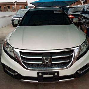 Honda Accord CrossTour 2013 EX-L W/Navigation AWD White | Cars for sale in Lagos State, Surulere