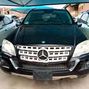 Mercedes-Benz M Class 2009 ML350 AWD 4MATIC Black   Cars for sale in Lagos State, Surulere