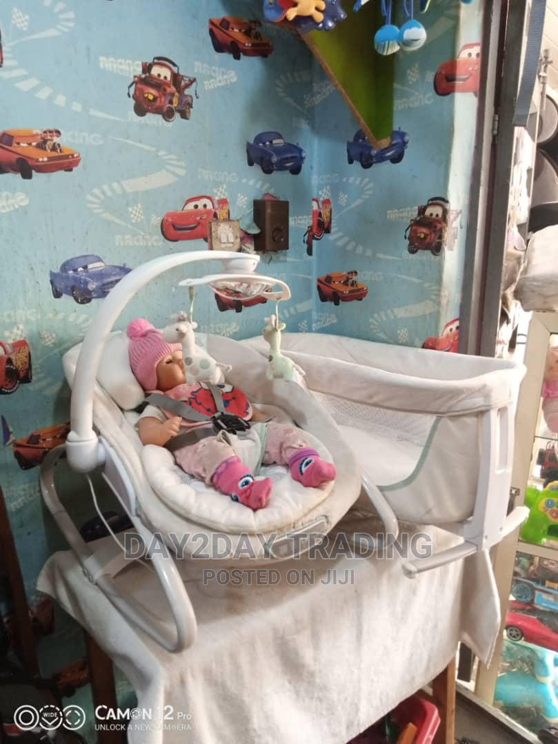 Tokunbo Uk Used Rocker Bouncer With Baby Bed   Children's Gear & Safety for sale in Ikeja, Lagos State, Nigeria