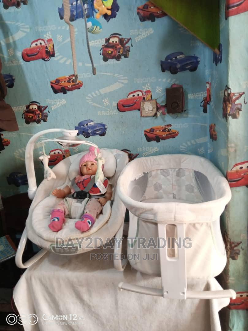 Tokunbo Uk Used Rocker Bouncer With Baby Bed